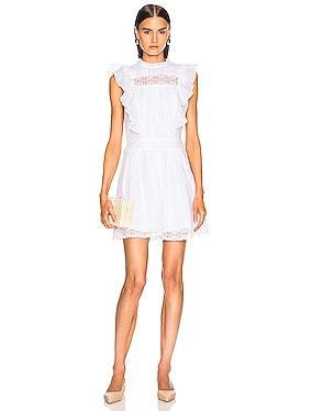 Lace Pintuck Dress