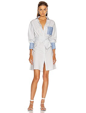 Wrap Shirtdress
