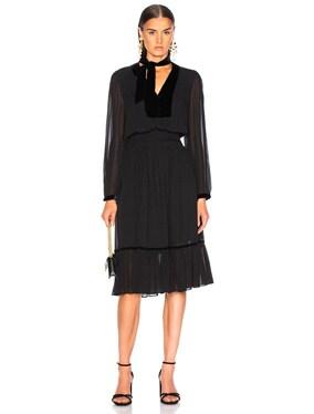 Velvet Silk Dress