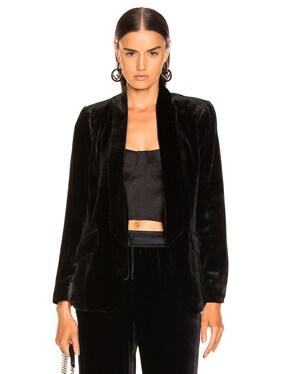 Velvet Tie Jacket