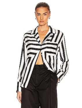 Mix Stripe PJ Blouse