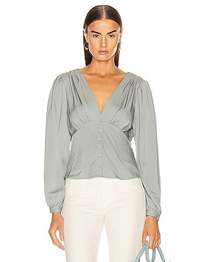 Empire Pleat Top