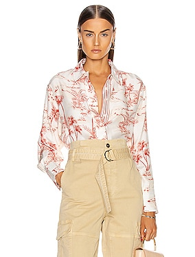 Tie Up Toile Shirt