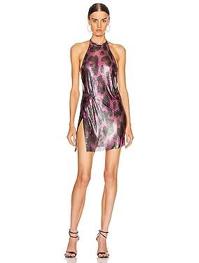 for FWRD Alicia Halter Mini Dress