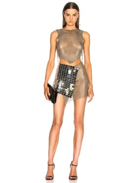 Mesh and Scale Dress
