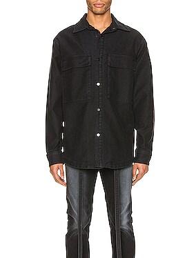 Canvas Shirt Jacket