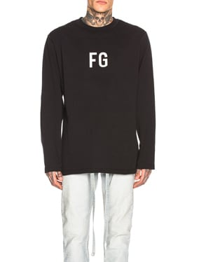 Long Sleeve 'FG' Tee