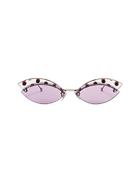 Defender Butterfly Polka Dot Sunglasses