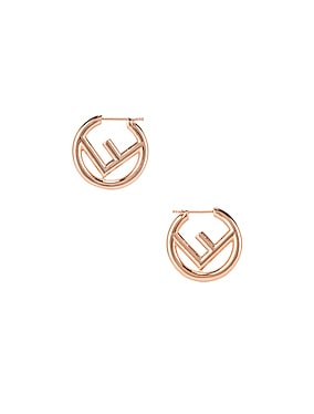 Mismatched Mini Logo Hoop Earrings