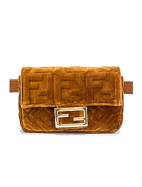 FF Velvet Hip Belt Bag