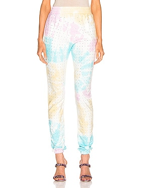 Kendall High Rise Crystal Sweatpant