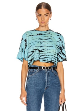 Naomi Cropped Short Sleeve Tee