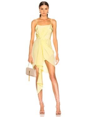 Cascade Slip Dress