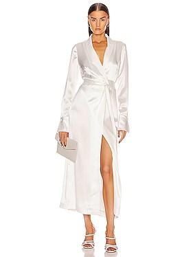 Callisto Wrap Coat Dress