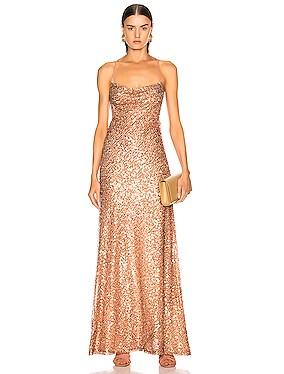 Paillette Whiteley Dress