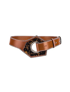 Leather Acetate Belt