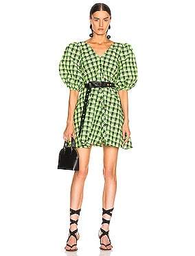 Seersucker Checker Dress