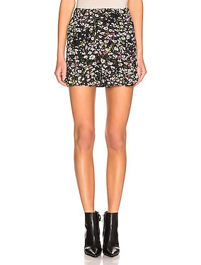 Printed Georgette Shorts