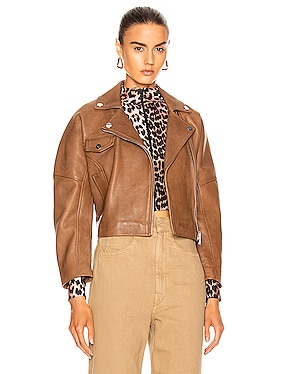 Grain Leather Jacket