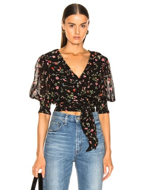 Elm Georgette Top