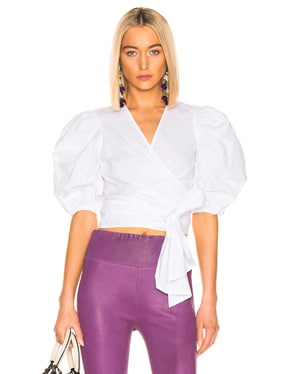 Plain Cotton Poplin Top