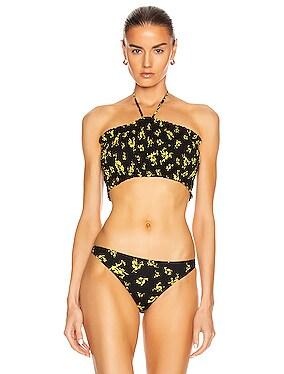 Recycled Fabric Swimwear Top