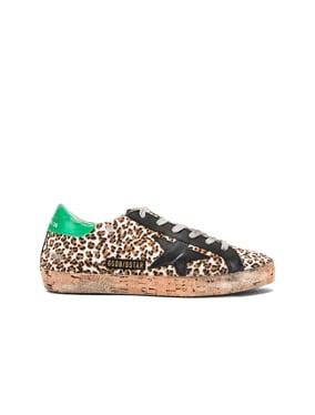 Cork Sole Superstar Sneakers