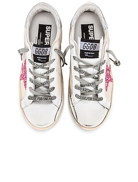 Metal Lettering Superstar Sneakers