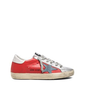 Leather Superstar Low