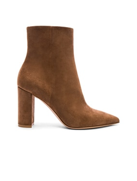 Suede Piper Ankle Boots
