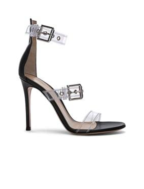 Plexi Gabby Strap Heels