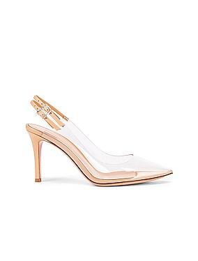 Plexi Double Strap Heels