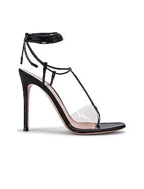 Plexi Strappy Heels