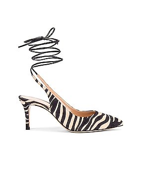 Strappy Kitten Heel Pumps