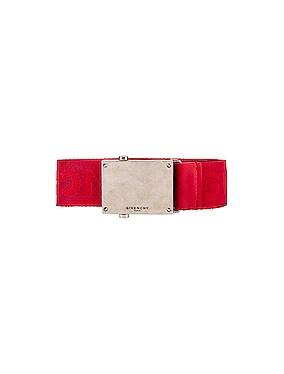 Plate Buckle Belt