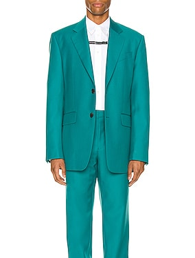 Notch Lapel Oversize Jacket