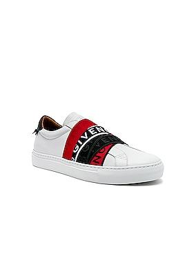 Elastic Webbing Sneakers
