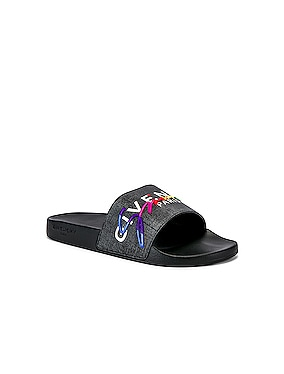 Flat Sandal Slide