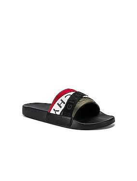 Flat Sandal Webbing Slide