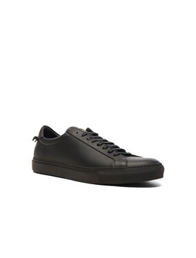 Leather Urban Street Low Top Sneakers