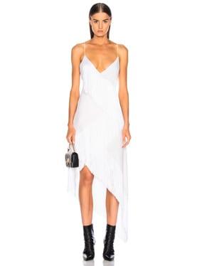 Tiered Fringe Slip Dress