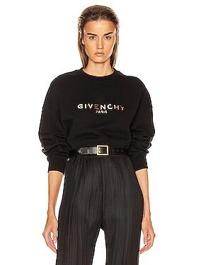 Cropped Oversized Sweatshirt