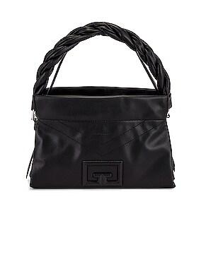 Medium ID 93 Twisted Strap Zip Bag