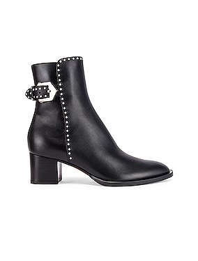 Elegant Studs Ankle Boots