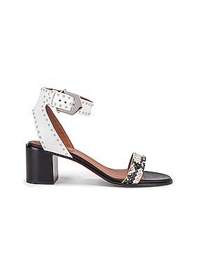 Elegant Studs Heel Sandals
