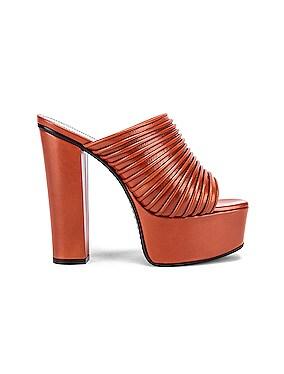 Platform Mule Sandals