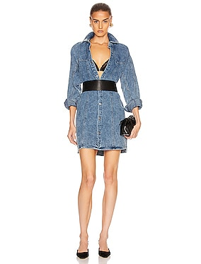 Kiko Studded Shirt Dress
