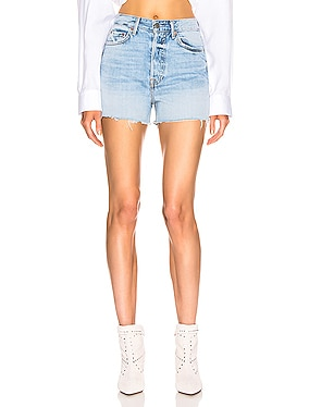 Poppy High Rise Cut Off Shorts
