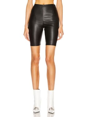 Carter Leather Bicycle Shorts