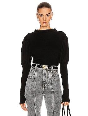 Doran Puff Sleeve Sweater